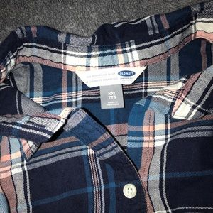 Super soft plaid button up